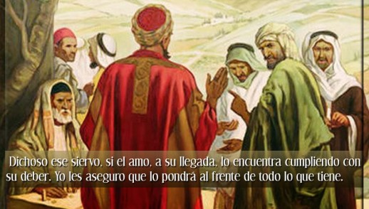 TEXTO, AUDIO Y VIDEO – Evangelio 19 de Octubre 2016