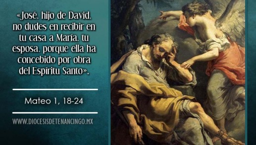 TEXTO, AUDIO Y VIDEO – Evangelio 18 de Diciembre 2016