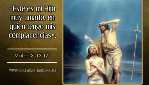 TEXTO, AUDIO Y VIDEO – Evangelio 09 de Enero 2017