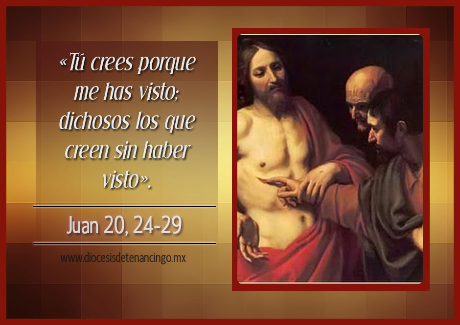TEXTO, AUDIO y VIDEO – Evangelio 03 de Julio 2017