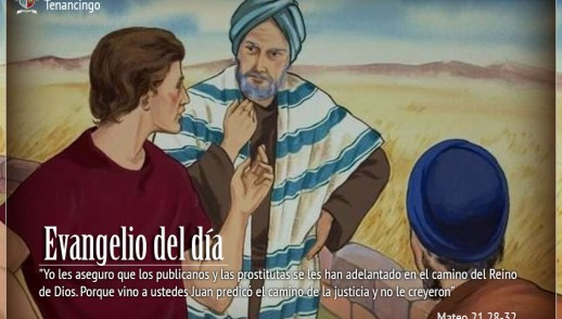 TEXTO, AUDIO y VIDEO – Evangelio 01 de Octubre 2017