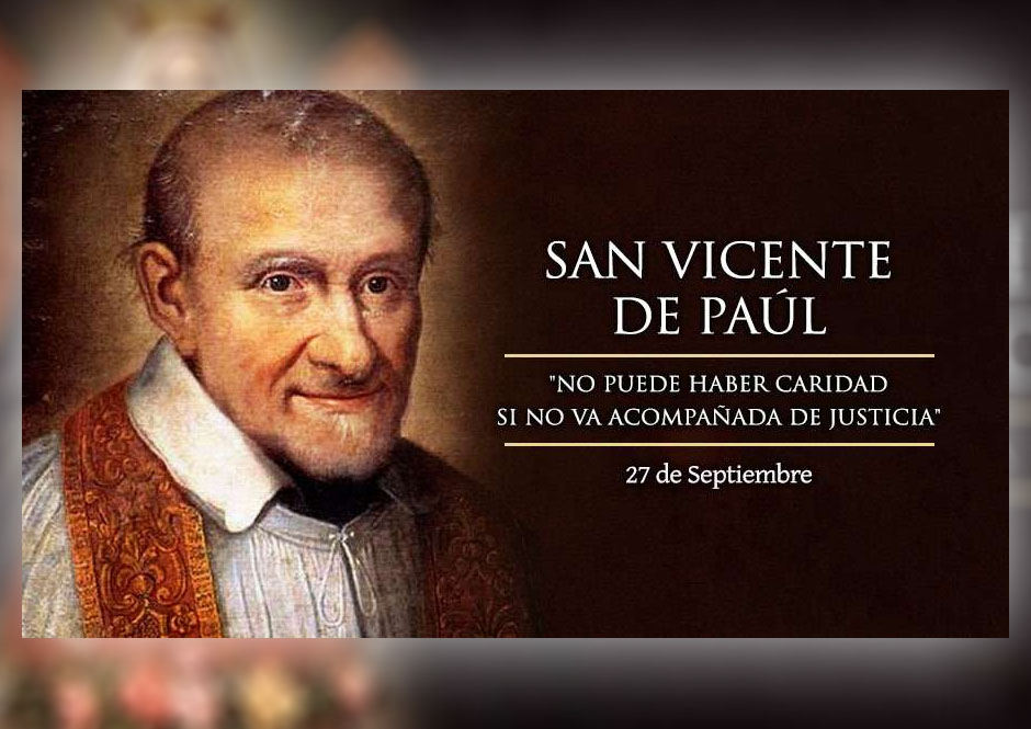 [ TEXTO, AUDIO y VIDEO ] el Santo del día. San Vicente De Paúl