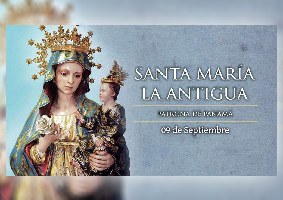 [ TEXTO, AUDIO y VIDEO ] El Santo del día, Santa María La Antigua