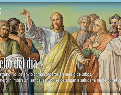 TEXTO, AUDIO y VIDEO – Evangelio 18 de Octubre 2017