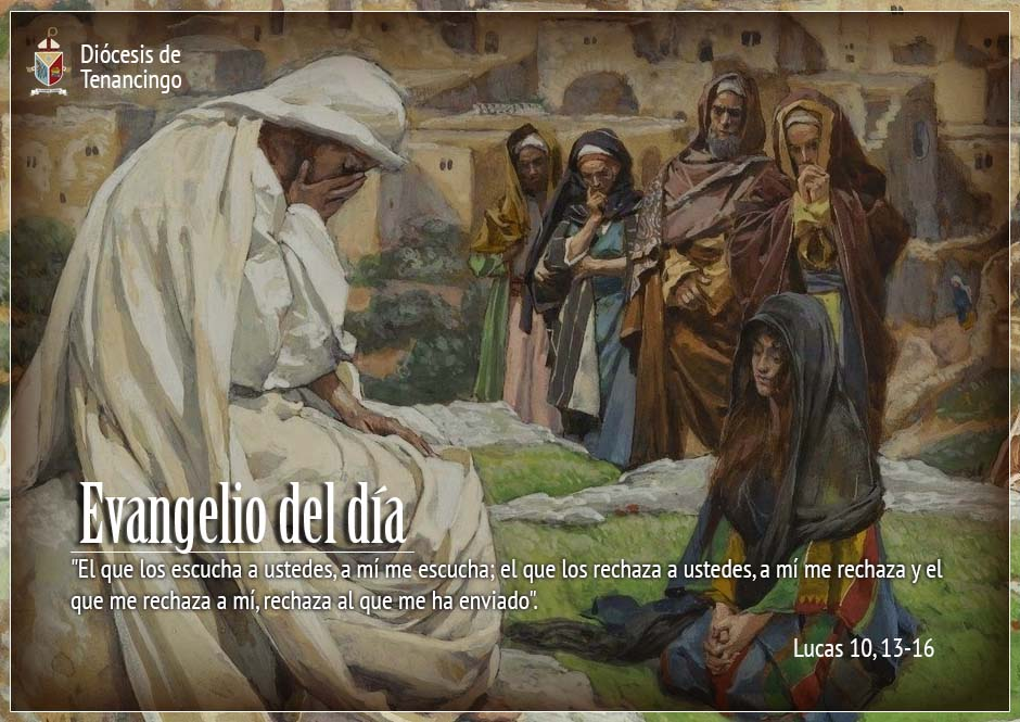 TEXTO, AUDIO y VIDEO – Evangelio 06 de Octubre 2017