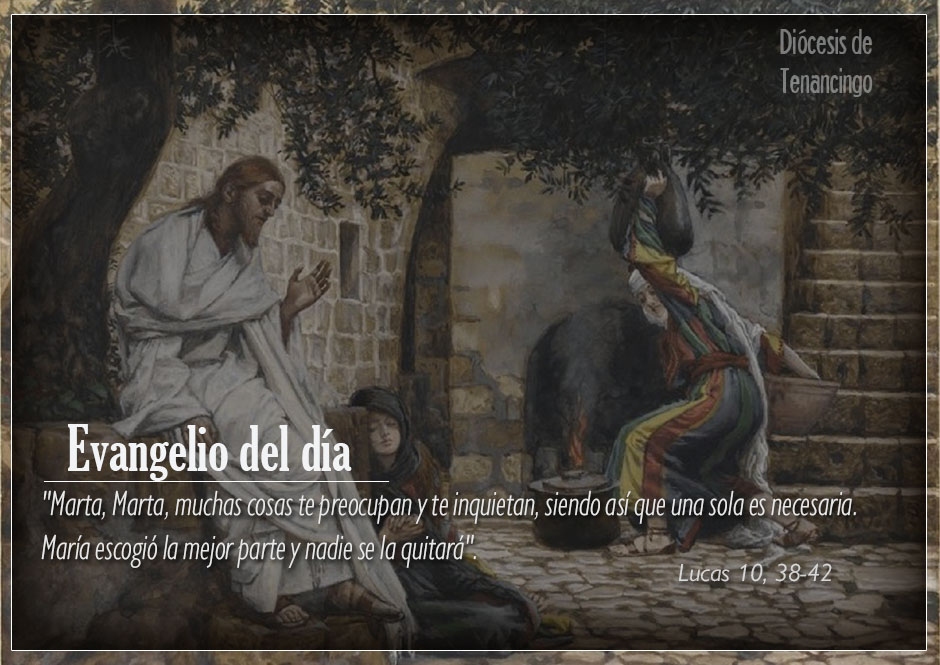 TEXTO, AUDIO y VIDEO – Evangelio 10 de Octubre 2017