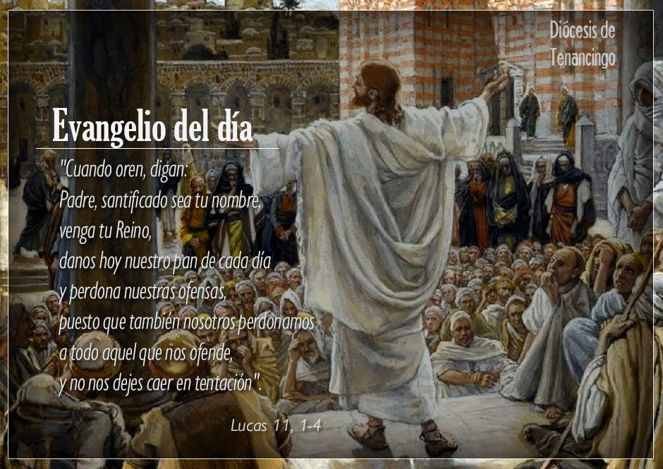 TEXTO, AUDIO y VIDEO – Evangelio 11 de Octubre 2017