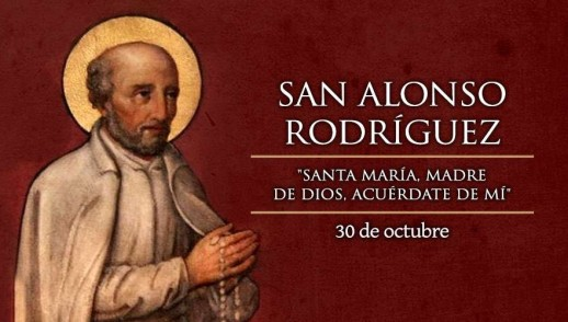 [ TEXTO, AUDIO y VIDEO ] Santo del Día, San Alonso Rodríguez
