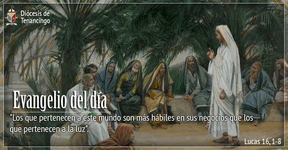 TEXTO, AUDIO Y VIDEO – Evangelio 10 de Noviembre 2017