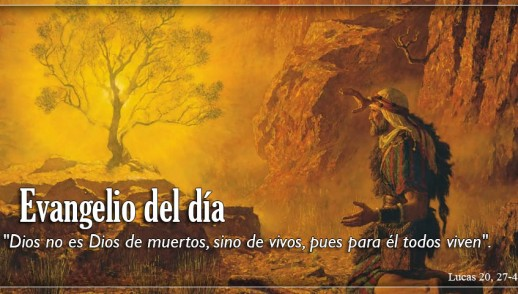 TEXTO, AUDIO Y VIDEO – Evangelio 25 de Noviembre 2017