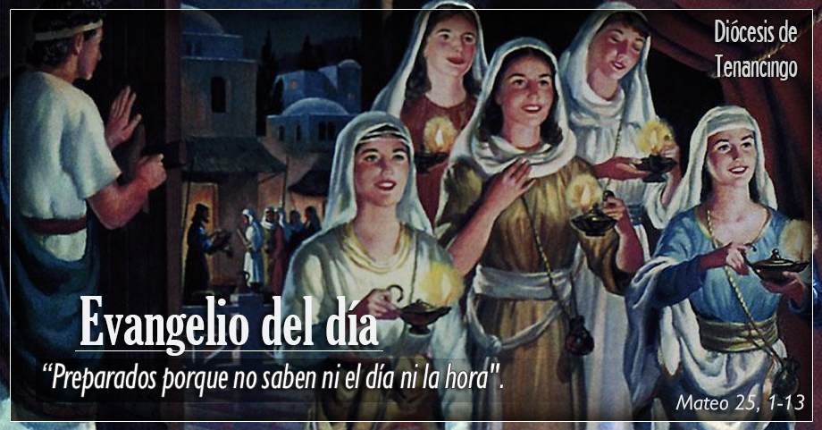 TEXTO, AUDIO Y VIDEO – Evangelio 12 de Noviembre 2017