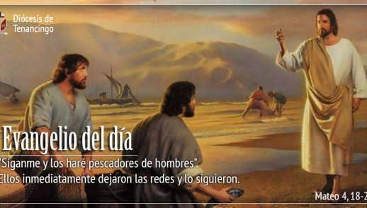 TEXTO, AUDIO Y VIDEO – Evangelio 30 de Noviembre 2017