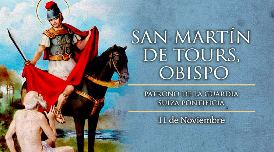 [ TEXTO, AUDIO y VIDEO ] Santo del Día, San Martín de Tours