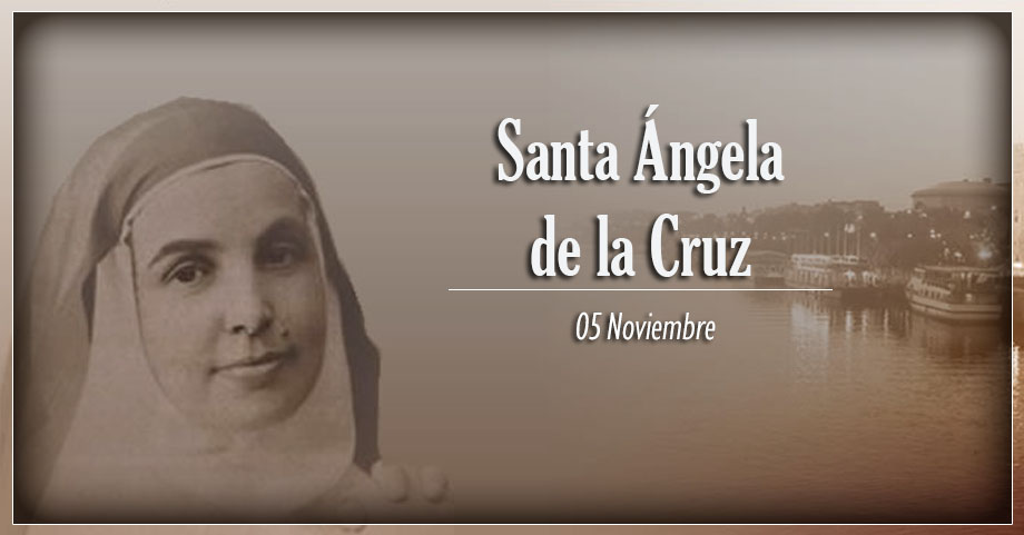 [ TEXTO, AUDIO y VIDEO ] Santo del Día, Santa Ángela de la Cruz