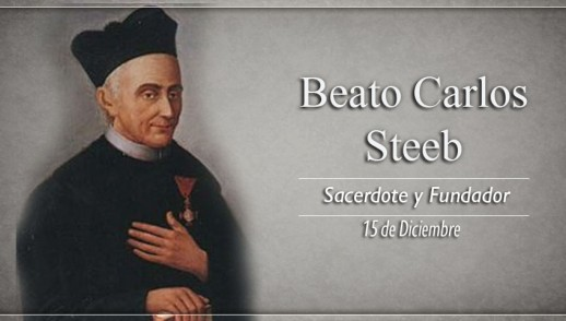 [ TEXTO, AUDIO y VIDEO ] Santo del día – Beato Carlos Steeb, Sacerdote y Fundador