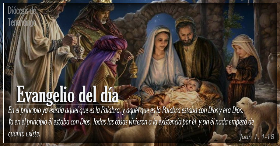 TEXTO, AUDIO Y VIDEO – Evangelio 25 de Diciembre 2017
