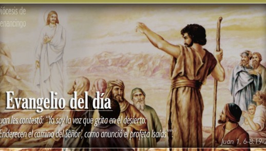 TEXTO, AUDIO Y VIDEO – Evangelio 17 de Diciembre 2017