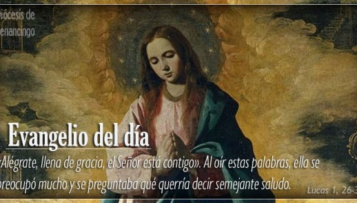 TEXTO, AUDIO Y VIDEO – Evangelio 08 de Diciembre 2017