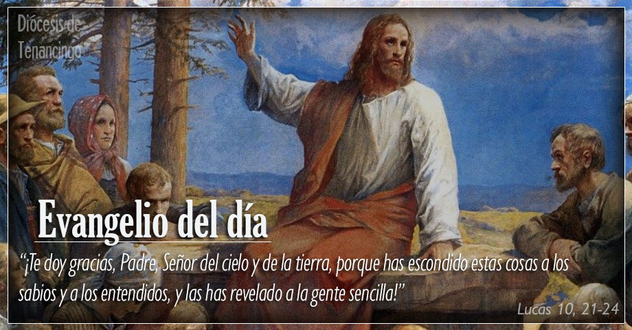 TEXTO, AUDIO Y VIDEO – Evangelio 05 de Diciembre 2017
