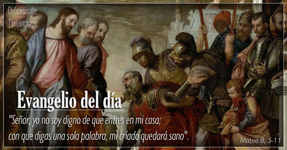 TEXTO, AUDIO Y VIDEO – Evangelio 04 de Diciembre 2017