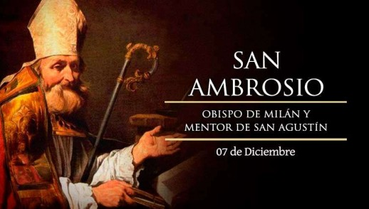 [ TEXTO, AUDIO y VIDEO ] Santo del día – San Ambrosio