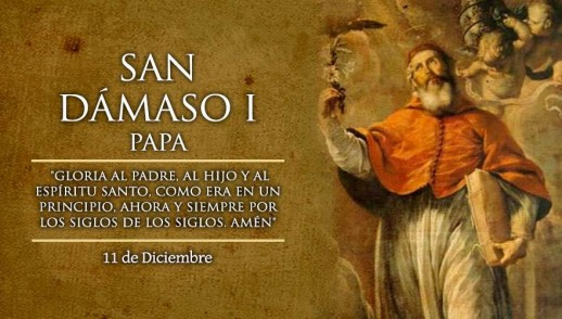 [ TEXTO, AUDIO y VIDEO ] Santo del día – San Dámaso I papa