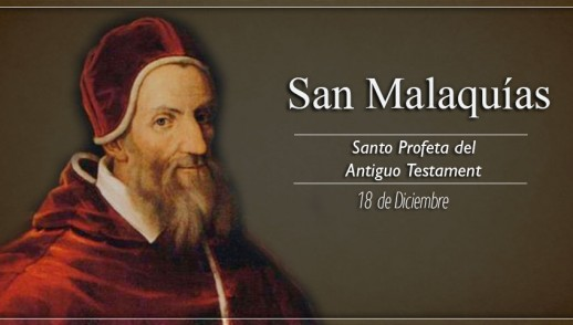 [ TEXTO, AUDIO y VIDEO ] Santo del día – San Malaquías