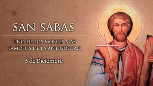 [ TEXTO, AUDIO y VIDEO ] Santo del día – San Sabas, Abad