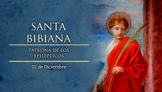 [ TEXTO, AUDIO y VIDEO ] Santo del día – Santa Bibiana