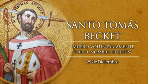 [ TEXTO, AUDIO y VIDEO ] Santo del día – Santo Tomás Becket