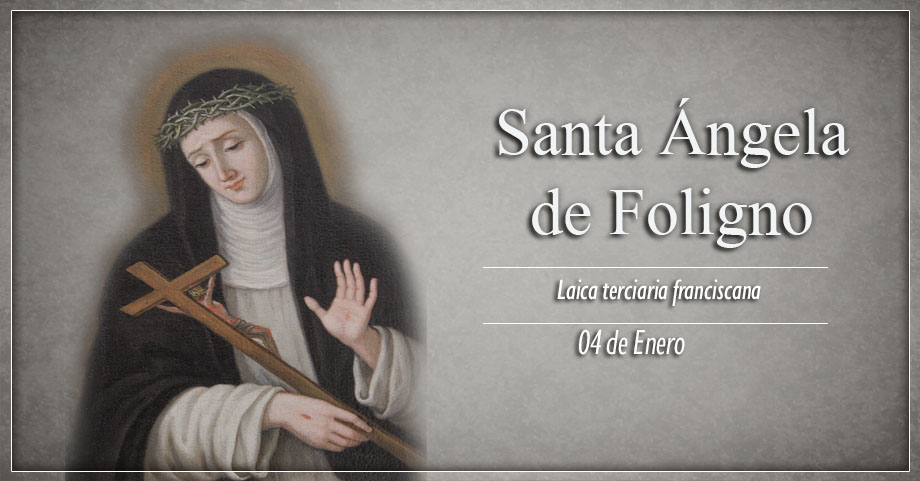 [ TEXTO, AUDIO y VIDEO ] Santo del día –  Santa Ángela de Foligno