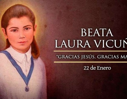 [ TEXTO, AUDIO y VIDEO ] Santo del día – Beata Laura Vicuña