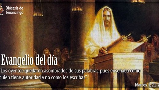 TEXTO, AUDIO Y VIDEO – Evangelio 09 de Enero 2018