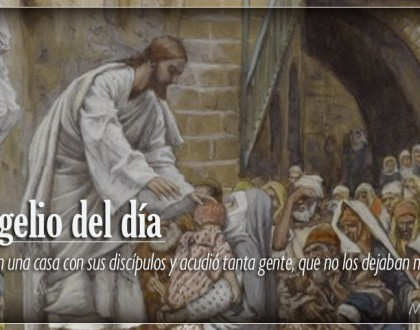 TEXTO, AUDIO Y VIDEO – Evangelio 20 de Enero 2018
