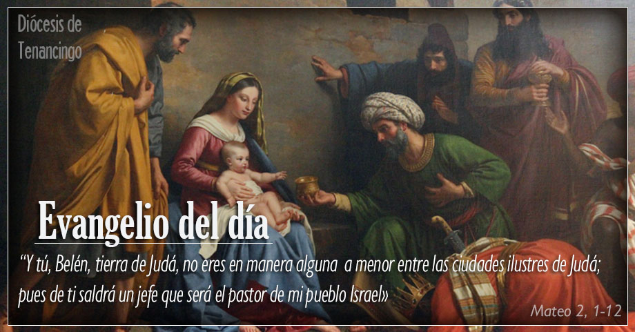 TEXTO, AUDIO Y VIDEO – Evangelio 07 de Enero 2018
