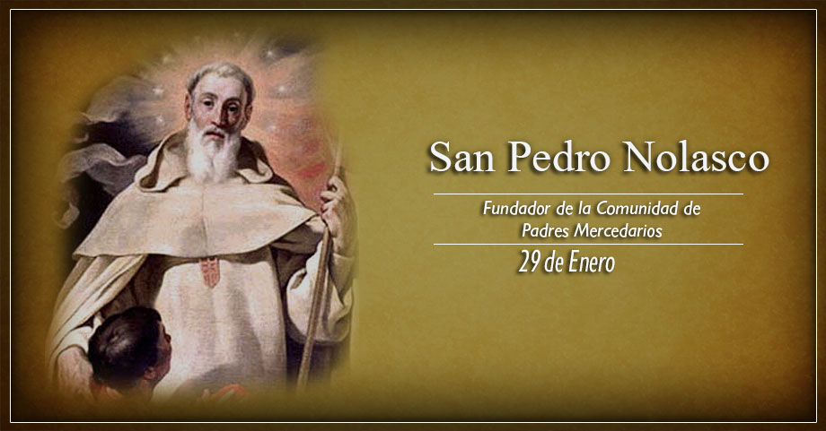 [ TEXTO, AUDIO y VIDEO ] Santo del día – San Pedro Nolasco