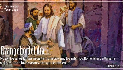 TEXTO, AUDIO Y VIDEO – Evangelio 17 de Febrero 2018