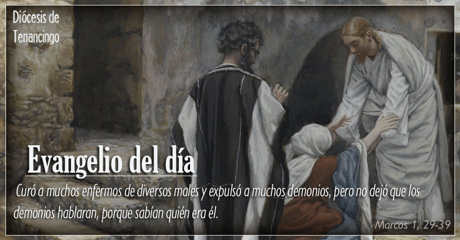 TEXTO, AUDIO Y VIDEO – Evangelio 04 de Febrero 2018