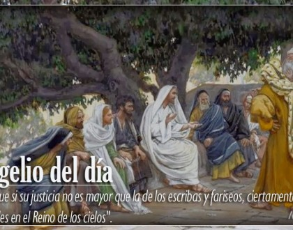 TEXTO, AUDIO Y VIDEO – Evangelio 23 de Febrero 2018