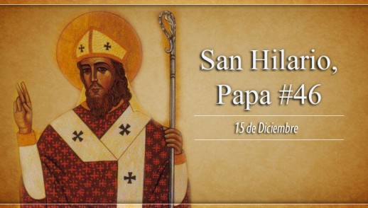 [ TEXTO, AUDIO y VIDEO ] Santo del día – San Hilario, Papa #46