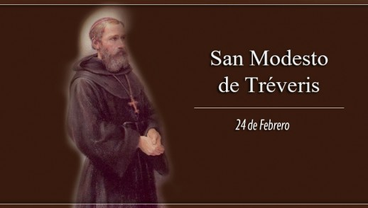 [ TEXTO, AUDIO y VIDEO ] Santo del día – San Modesto de Tréveris