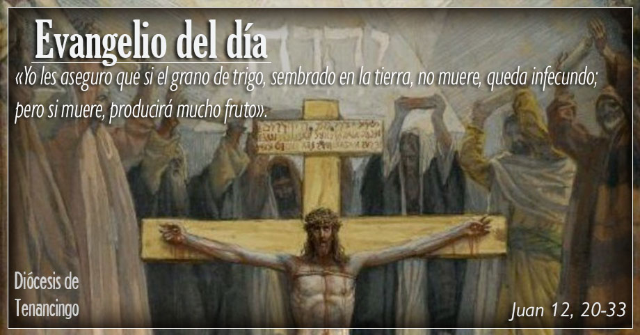 TEXTO, AUDIO Y VIDEO – Evangelio 18 de Marzo 2018