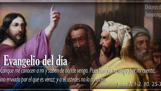 TEXTO, AUDIO Y VIDEO – Evangelio 16 de Marzo 2018