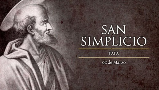 [ TEXTO, AUDIO y VIDEO ] Santo del día – San Simplicio
