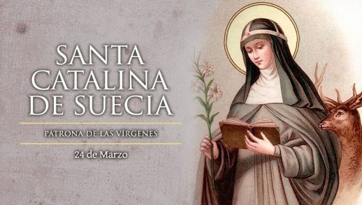 [ TEXTO, AUDIO y VIDEO ] Santo del día – Santa Catalina de Suecia