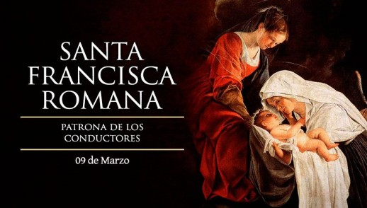 [ TEXTO, AUDIO y VIDEO ] Santo del día – Santa Francisca Romana